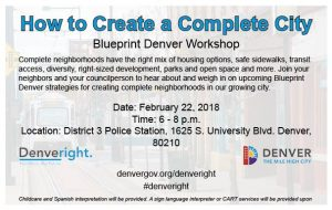 Wpena news washington park east upcoming blueprint denver workshop malvernweather Images